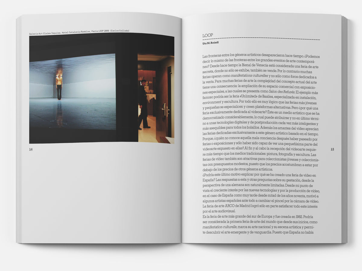 Silvia Miguez-Exhibition&Catalogue-Remote Viewing. LOOP Barcelona (2003 - 2009)