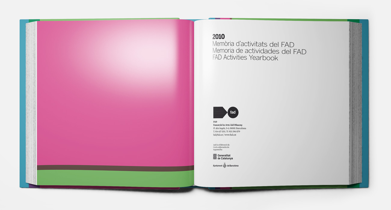 Silvia Miguez-Memoria FAD-FAD Activities Yearbook 2010